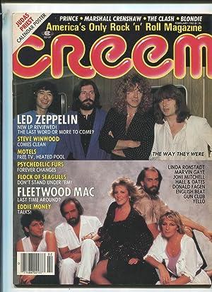 Creem Feb 1983 Led Zeppelin Fleetwood Mac