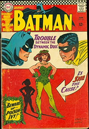 Batman #181 VG Infantino Anderson Moldoff 1st Poison Ivy - Poster Included 1966 Comic Book