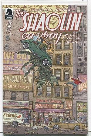 The Shaolin Cowboy #2 Unread New/Near Mint