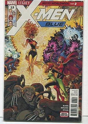 X-Men-Blue #13 NM Legacy Mojo Worldwide Part