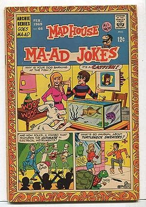 Madhouse-MA-AD Jokes #66 VG/FN 1969 Archie Comics