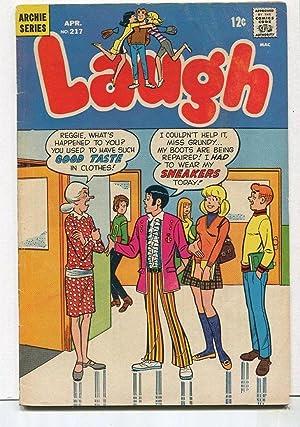 Laugh #217 VG 1969 Archie Comics CBX38B