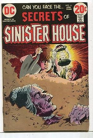 Secrets Of Sinister House # 11 FN
