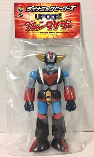 UFO Robot Grendizer Dynamic Heroes Figure Medicom Toy From Japan Comic Book