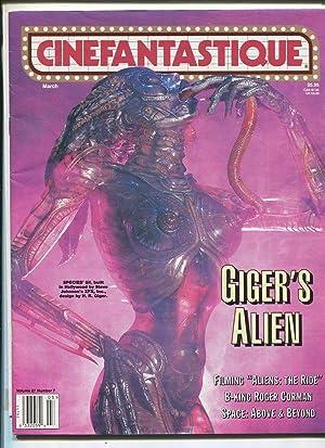 Cinefantastique Vol 27 #7 March 1996 Giger's