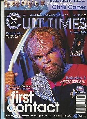 Star Trek First Contact Rare Worf NM//M