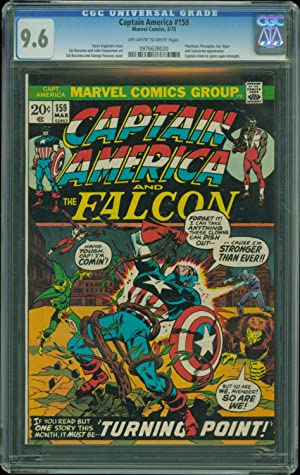 Captain America (1st Series) #159 CGC 9.6 Marvel 1973 Comic Book