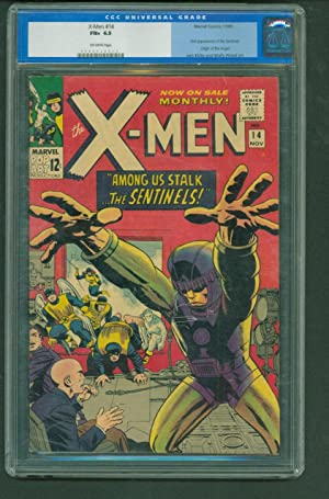 X-Men #14 - CGC 6.5 OW Marvel 1965 - 1st Appearance of the Sentinels! Comic Book