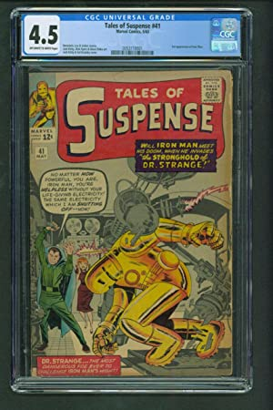 Tales of Suspense #41 - CGC 4.5 KEY Book -3rd Appearance of Iron Man Comic Book