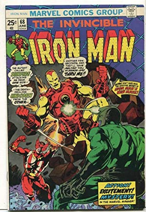 The Invincible Iron Man #68 VF The Mutant Called Sunfire SA Comic Book