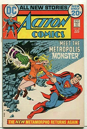 Action Comics-Metropolis #415 VF+ Metamorpho Returns DC Comics SA Comic Book