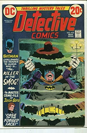 Detective Comics-Batman #433 FN Killer In Smog DC Comics SA Comic Book