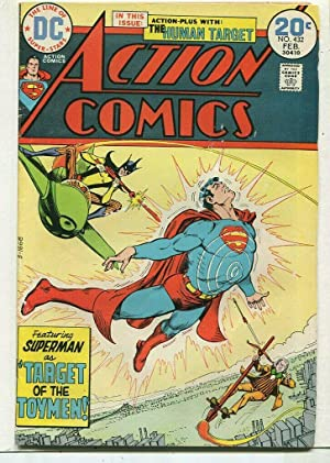 Action Comics-Superman #432 FN 1st Toyman DC Comics SA Comic Book