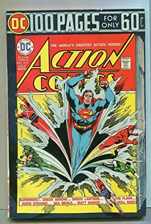 Action Comics-Superman #473 FN/VF 100 Pages Green Arrow,Sea Devils DC Comics SA Comic Book