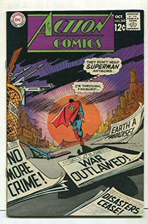 Action Comics-Superman #368 VF DC Comics SA Comic Book