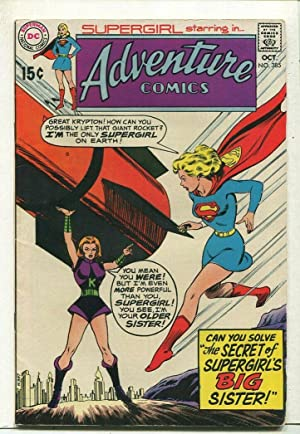 Adventure Comics- Supergirl #385 FN Secret Of Supergirls Sister DC Comics SA Comic Book