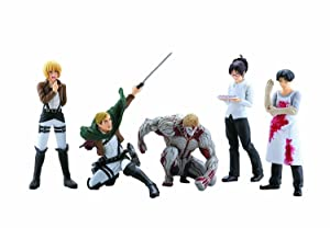 ATTACK ON TITAN REAL FIGURE COLLECTION VOL 2 blind box set of 12 Kaiyodo capsule Comic Book