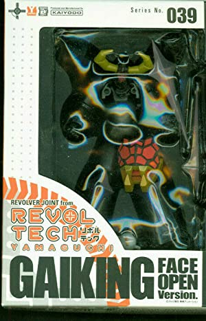 Revoltech Gaiking 039 Open Face new boxed Comic Book