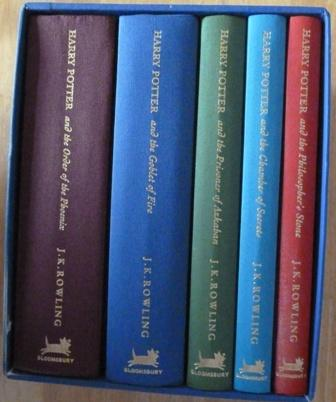 harry potter book collection special edition