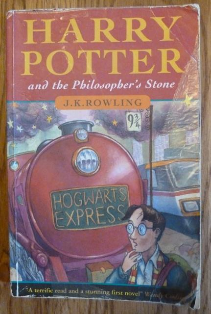 Harry Potter And The Philosopher 39 S Stone First Uk