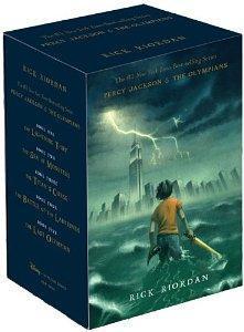 Percy Jackson and the Olympians Hardcover Boxed: Riordan, Rick