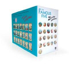 Famous Five Classic 21 Book Box set: Enid Blyton