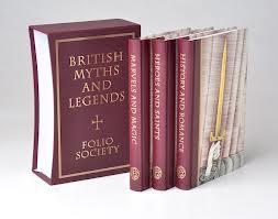 British Myths and Legends (Folio Society Three-Volume Set): Richard Barber