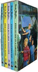 Famous Five Slipcase (1-5): Five on a Treasure Island , Five Go Adventuring Again , Five Run Away...