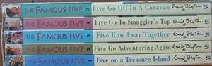 Famous Five Slipcase (1-5): Five on a Treasure Island, Five Go Adventuring Again, Five Run Away ...