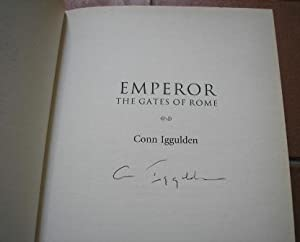 The Gates of Rome (Emperor)-(Signed): Conn Iggulden