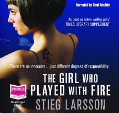 The Girl who Played with Fire (unabridged audio book) [Audiobook] [Unabridged] (Audio CD): Stieg ...