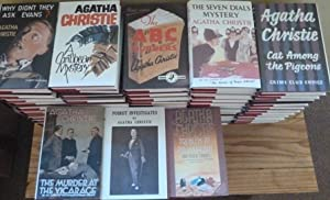 Agatha Christie Collection- Full set of 85 Hardbacks and Magazines Plus Binders and Extras