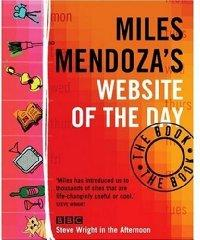 Miles Mendoza's Website of the Day: The Book