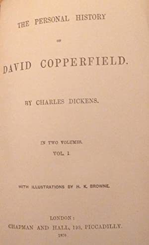 The Works of Charles Dickens [Illustrated Library Edition] complete in 26 volumes(1860-1870), ...