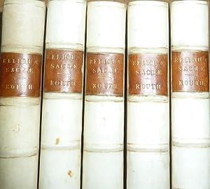 Reliquiae Sacrae: Sive, Auctorum Fere Jam Perditorum: Routh, Martin Joseph