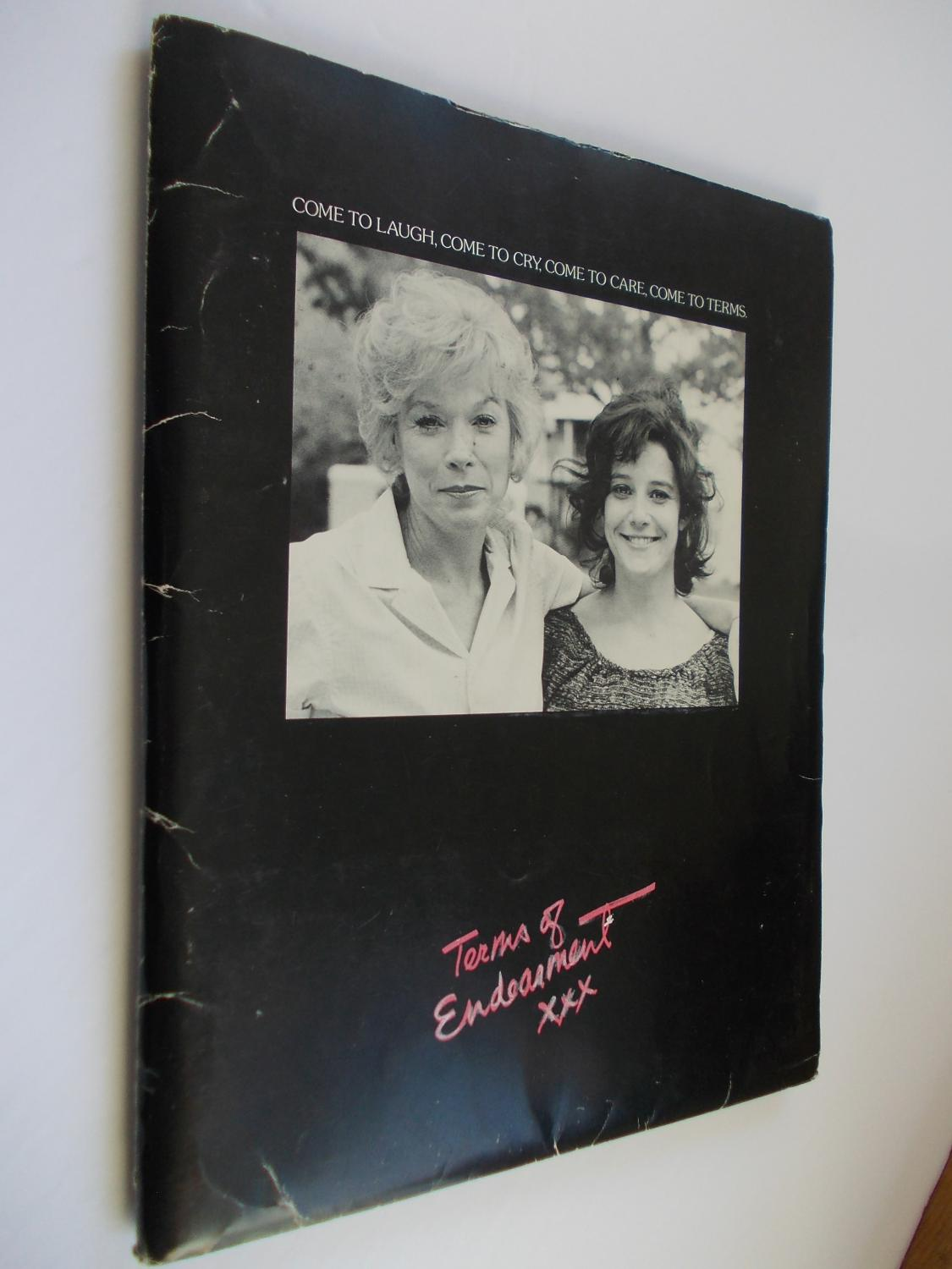 Terms of Endearment McMurtry, Larry Very Good - Paramount Pictures press information kit, including a 42 page production information handbook, in typeface, ( ie. not professionally typeset ) - 19