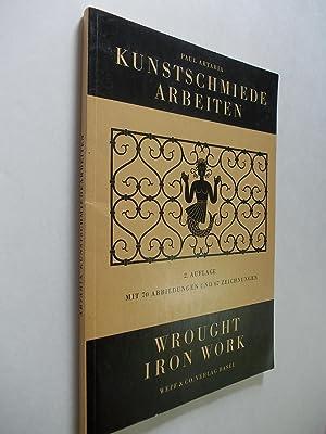 Kunstschmiedearbeiten aus der Schweizerischen Schlosserfachschule in Basel. Wrought Iron Work from ...
