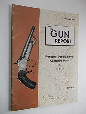 The Gun Report: Francotte Double Barrel Centerfire Pistol: Cole, W. R.
