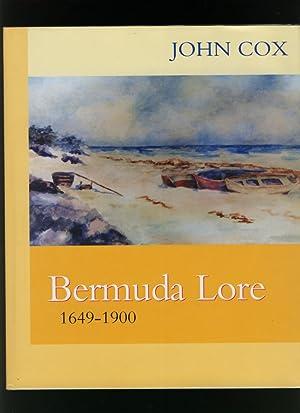 Bermuda Lore 1649 - 1900: Cox, John