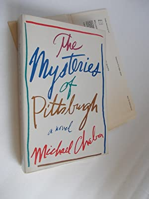 THE MYSTERIES OF PITTSBURGH -Advance Copy: CHABON, Michael