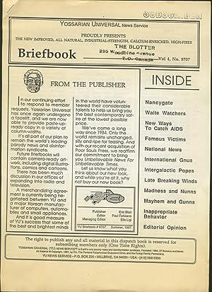 BriefBook - Winter 1988 - Fall 1968 - Spring 1987 - Summer 1987: Anon,