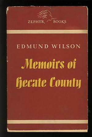 Memoirs of Hecate County: Wilson, Edmund