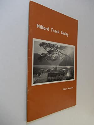 Milford Track Today - Supplement to Milford: Anderson, Wiliam