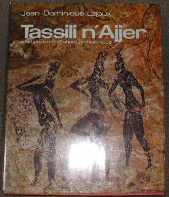 Tassili N'Ajjer, art rupestre préhistorique.