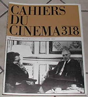 Cahiers du cinéma-N° 318. Rencontre, Ray Wenders,: COLLECTIF