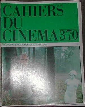Cahiers du cinéma-N° 370. Satayit Ray. Le: COLLECTIF