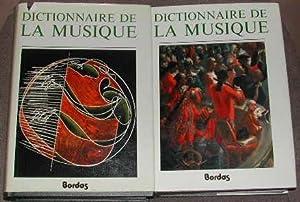 Dictionnaire de la musique: les hommes et: HONEGGER (Marc)