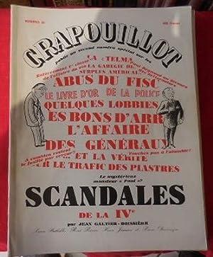 Scandales de la IVe. N° 28.: GALTIERBOISSIERE (Directeur Jean),