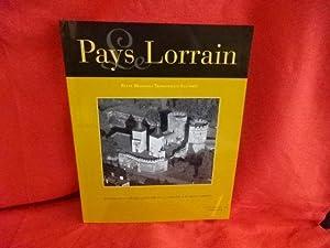 LE PAYS LORRAIN - 96e année avril-juin: COLLECTIF