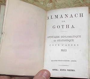 Annuaire diplomatique et statistique, pour l'année 1853.: LIVRES ANCIENS] ALMANACH
